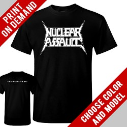 Nuclear Assault - Logo - Print on demand