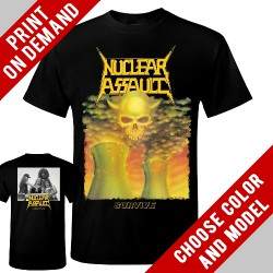 Nuclear Assault - Survive - Print on demand
