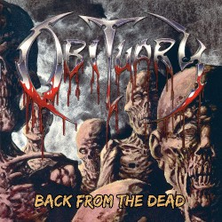 Obituary - Back From The Dead - LP COLOURED