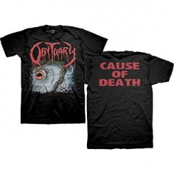 Obituary - Cause Of Death - T-shirt (Men)