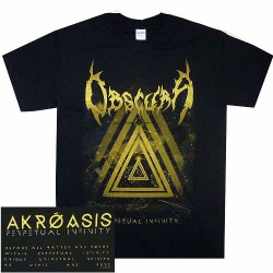 Obscura - Perpetual Infinity - T-shirt (Men)
