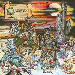 Omen - Battle Cry - LP COLOURED