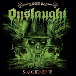 Onslaught - Live At The Slaughterhouse - CD + DVD