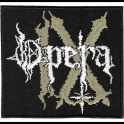 Opera IX - Logo - EMBROIDERED PATCH