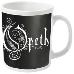Opeth - Logo (White) - MUG