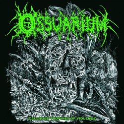 Ossuarium - Calcified Trophies Of Violence - CD EP DIGIPAK