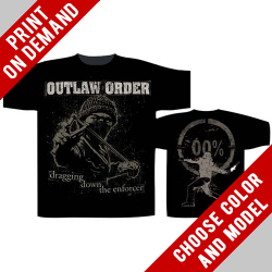 Outlaw Order - Dragging Down the Enforcer - Print on demand