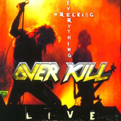 Overkill - Wrecking Everything - Live - CD DIGIPAK
