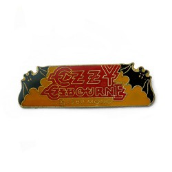 Ozzy Osbourne - Red Logo - METAL PIN