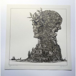 Paradise Lost - The Plague Within - Serigraphy