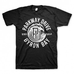 Parkway Drive - Wave Black - T-shirt (Men)