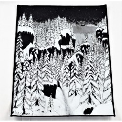 Paysage d'Hiver - Schattengang - BACKPATCH
