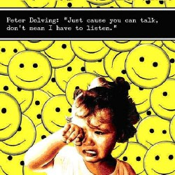 Peter Dolving - Just cause you can talk - Maxi single Digipak