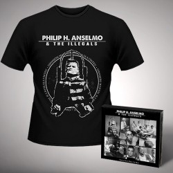 Philip H. Anselmo & The Illegals - Bundle 1 - CD DIGIPAK + T-shirt bundle (Men)