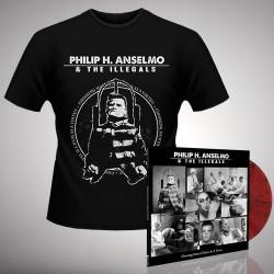 Philip H. Anselmo & The Illegals - Bundle 3 - LP gatefold coloured + T-shirt bundle (Men)