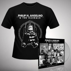 Philip H. Anselmo & The Illegals - Bundle 4 - LP gatefold coloured + T-shirt bundle (Men)