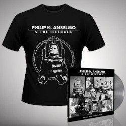 Philip H. Anselmo & The Illegals - Bundle 5 - LP gatefold coloured + T-shirt bundle (Men)