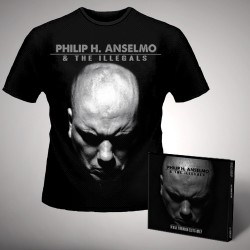 Philip H. Anselmo & The Illegals - Walk Through Exits Only - CD DIGIPAK + T-shirt bundle (Men)