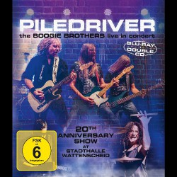 Piledriver - The Boogie Brothers Live In Concert - BLU-RAY + 2CD