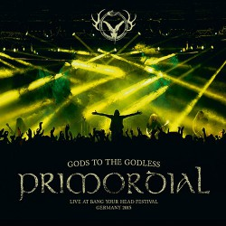 Primordial - Gods To The Godless - DOUBLE LP Gatefold