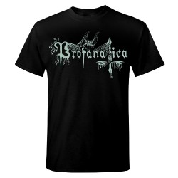 Profanatica - Three Black Serpents - T-shirt (Men)