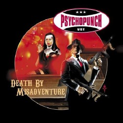 Psychopunch - Death by Misadventure - DOUBLE CD SLIPCASE