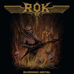 ROK - Burning Metal - LP Gatefold