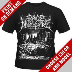 Rage Nucleaire - Unrelenting Fucking Hatred - Print on demand