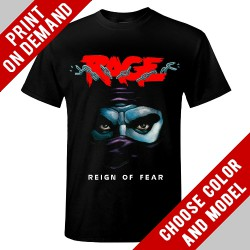 Rage - Reign Of Fear - Print on demand
