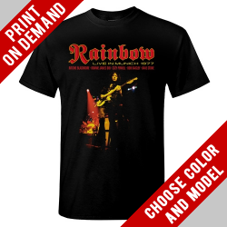 Rainbow - Live in Munich - Print on demand