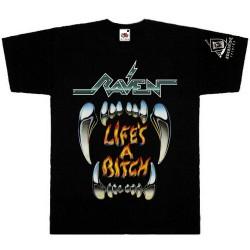 Raven - Life's A Bitch - T-shirt (Men)