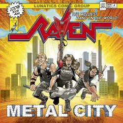 Raven - Metal City - LP COLOURED