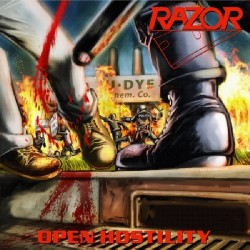 Razor - Open Hostility - CD SLIPCASE