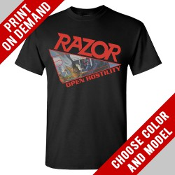 Razor - Open Hostility - Print on demand