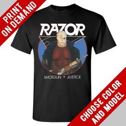 Razor - Shotgun Justice - Print on demand