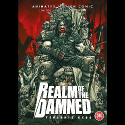 Realm Of The Damned - Tenebris Deos - DVD SLIPCASE