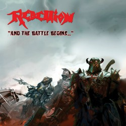 Rebellion - And The Battle Begins... - LP COLOURED