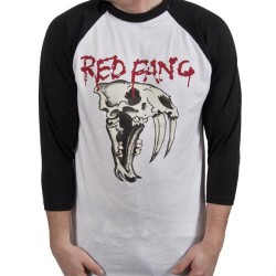 Red Fang - Fang - Baseball Shirt 3/4 Sleeve (Men)