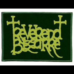 Reverend Bizarre - Green Logo - EMBROIDERED PATCH