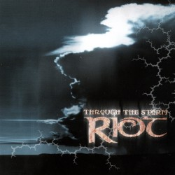 Riot - Through The Storm - DOUBLE LP GATEFOLD COLOURED