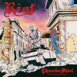 Riot - Thundersteel [30th Anniversary Edition] - LP COLOURED