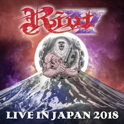 Riot V - Live In Japan 2018 - TRIPLE LP GATEFOLD COLOURED
