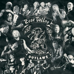 Rose Tattoo - Outlaws - DOUBLE LP GATEFOLD COLOURED