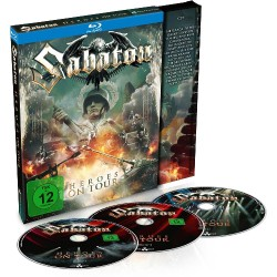 Sabaton - Heroes On Tour - 2 Blu-ray + CD digi