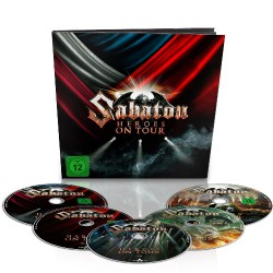 Sabaton - Heroes On Tour - 2 DVD + 2 Blu-ray + CD earbook