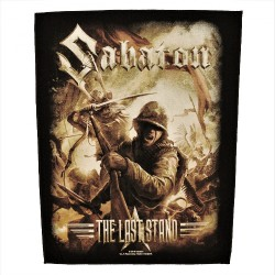 Sabaton - The Last Stand - BACKPATCH