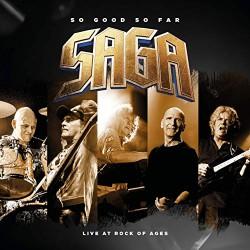Saga - So Good So Far - Live At Rock Of Ages - 2CD + DVD digipak