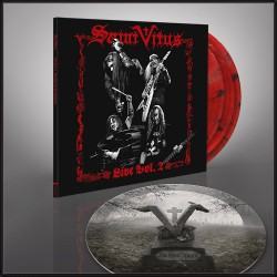Saint Vitus - Live Vol. 2 + Marbles In The Moshpit - Triple LP gatefold coloured + slipmat bundle