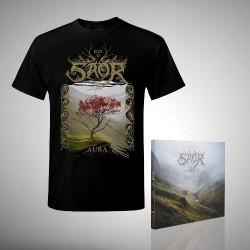 Saor - Bundle 1 - CD DIGIPAK + T-shirt bundle (Men)