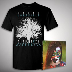 Sarah Longfield - Bundle 1 - CD DIGIPAK + T-shirt bundle (Men)